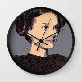 Amidala Buns Wall Clock