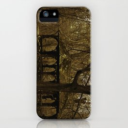 """Central """"Freaky"""" Park iPhone Case"""