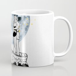 Night above the moon. Coffee Mug