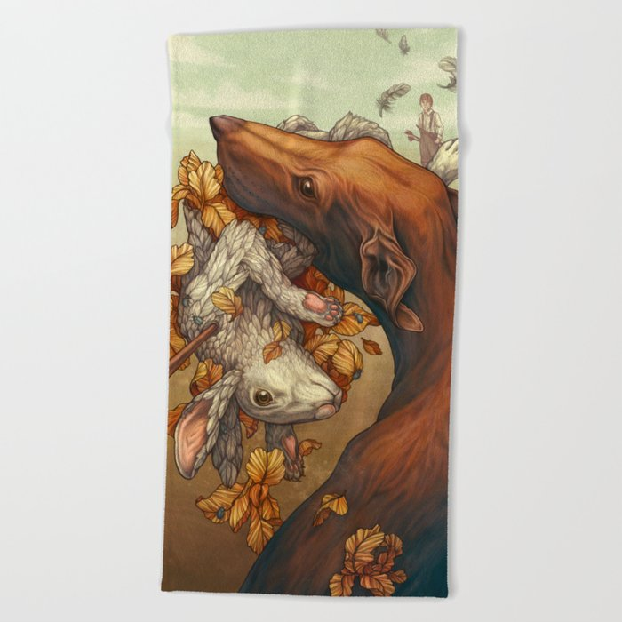 Lepus Beach Towel