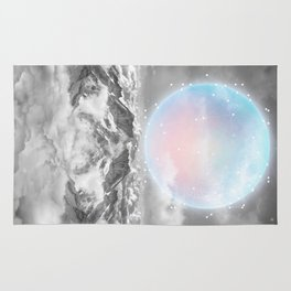 Places Neither Here Nor There (Guardian Moon) Rug