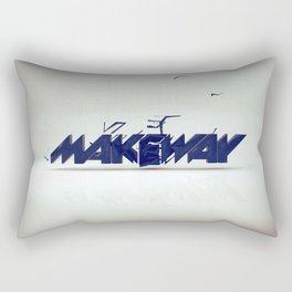 make way. Rectangular Pillow