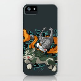 Invader Midna iPhone Case
