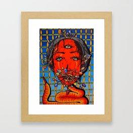 Mushroomhead Framed Art Print