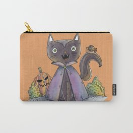 Cute Halloween Cat Carry-All Pouch