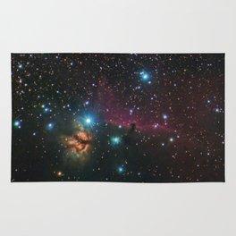 Flame and Horsehead Nebulae Rug