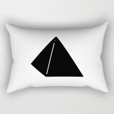 Shapes Pyramid Rectangular Pillow