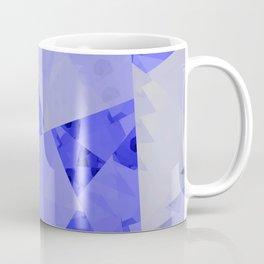 Fractal Designs Blue Face at GreenBeeMee Coffee Mug