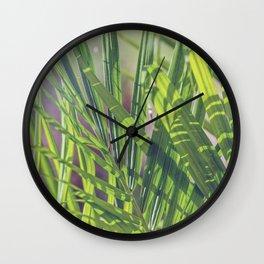 Keep Growing Wall Clock