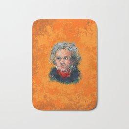 Colorful Beethoven Bath Mat