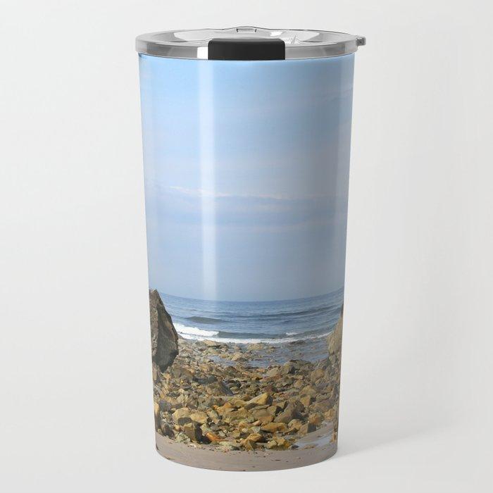 Rocky New England Coast Travel Mug