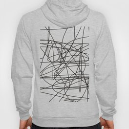 Simple black lines  no.3 Hoody