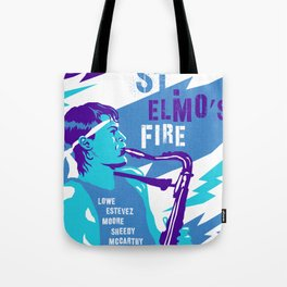 80s TEEN MOVIES :: ST. ELMO'S FIRE Tote Bag