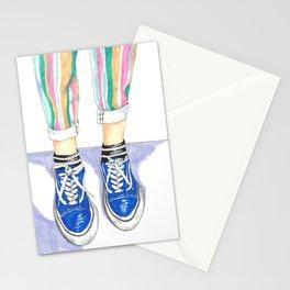 Striped Pants Stationery Cards