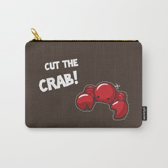 Cut the crab! Carry-All Pouch