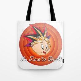 It's Time To De-De-De-De-Duel Tote Bag