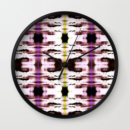 Digital White Plume Wall Clock