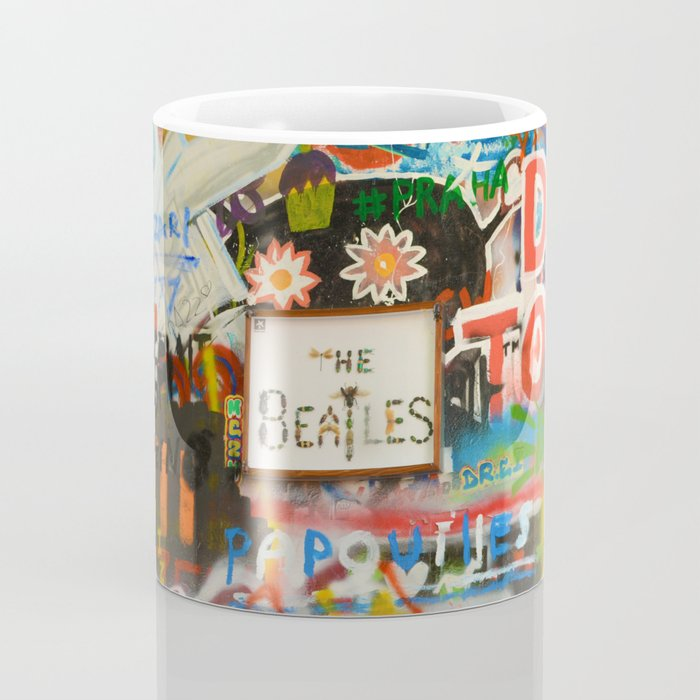 A moment with a Beatle Coffee Mug
