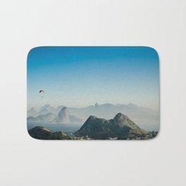 Panoramic Rio de Janeiro Brazil Bath Mat