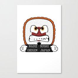 Food inmates - Sushi Canvas Print