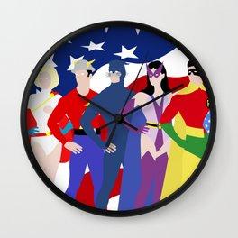 Super Squad Minimalist Wall Clock