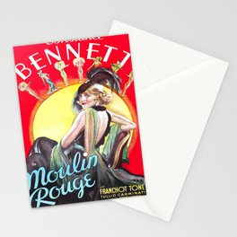 Vintage poster - Burlesque Movie Stationery Cards