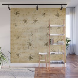 Lyrical Spiders Wall Mural