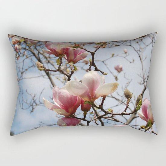 spring atmosphere Rectangular Pillow
