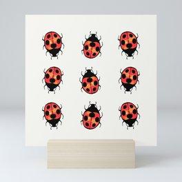 Lucky Ladybugs Mini Art Print