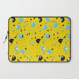 Hannukats Yellow Laptop Sleeve