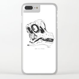 Here, Now, Forever Clear iPhone Case