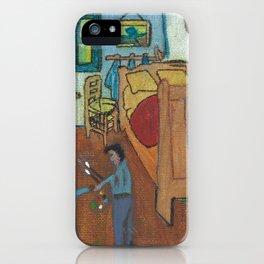Merci Beaucoup Monsieur van Gogh iPhone Case