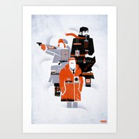 fargo Art Prints featuring Fargo TV Series Poster by Take Heed