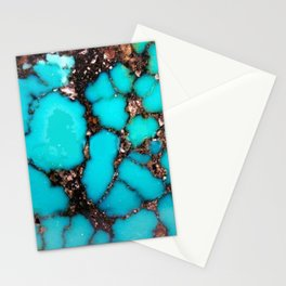 Macro Turquoise Stationery Cards