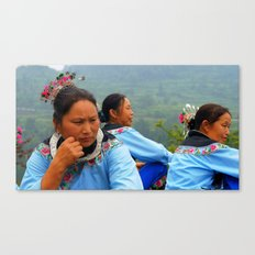 Meow People of China Canvas Print