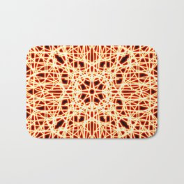 Flaming Chaos 1 Bath Mat