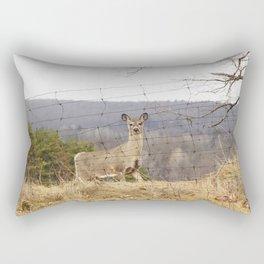 Mr. Deer Rectangular Pillow