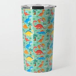 Dinos Green Travel Mug