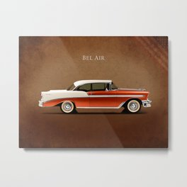Chevrolet Bel Air '56 Metal Print