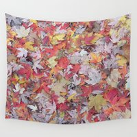 sprinkles Wall Tapestries featuring sugar maple sprinkles by Sarah Knight