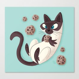 Elvis Want a Cookie? (from the My Favorite Murder podcast) Canvas Print