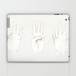 Three Threes Laptop & iPad Skin