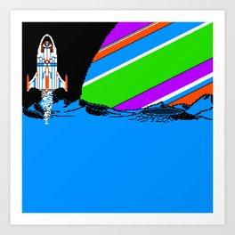 Take off Art Print