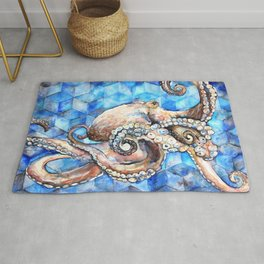 Magna Polypus (Large Octopus) Rug