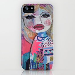 I wear my dreams as a crown iPhone Case