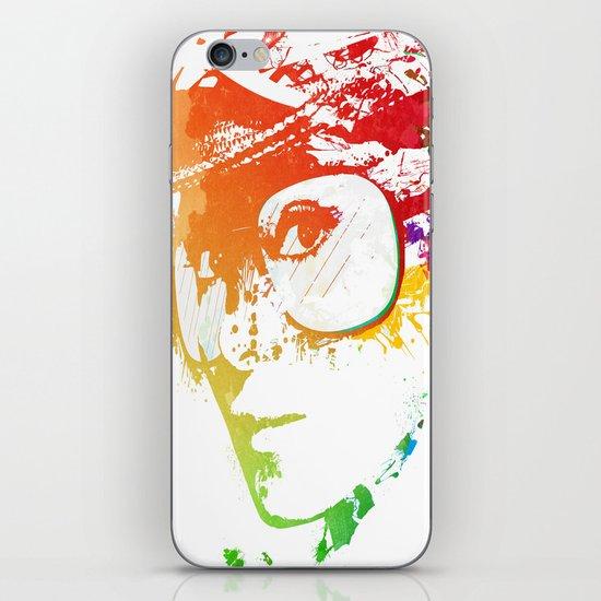 Audrey splash iPhone & iPod Skin
