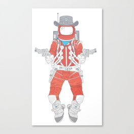 Space Sheriff Canvas Print