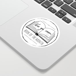 The YA Room (classic BoTM sticker) Sticker