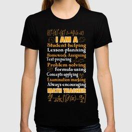 Best Costume For Math Teacher From Kids. T-shirt