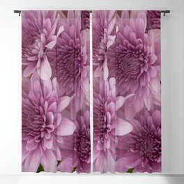 Bunch of Chrysanthemums Blackout Curtain